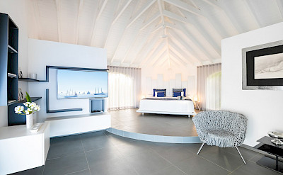 Vacation Rental St Barthelemy WV BYZ Villa Byzantine St Barts Villa BYZbd Desktop