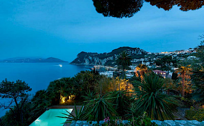 Villa Private Pool By Night