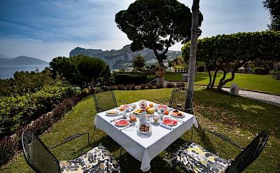 Villa Breakfast With Sea View