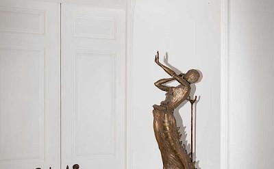 Villa Sculpture By Salvador Dali