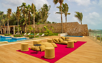 Casa Del Mar Outside Deck