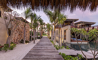 View From The Palapa To Entrance