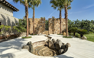 Entrance Fountain Day