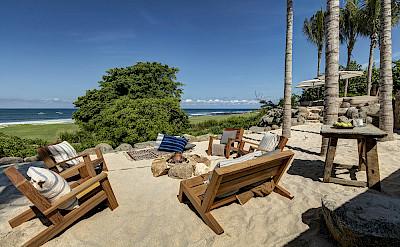 Firepit Sand Terrace Day