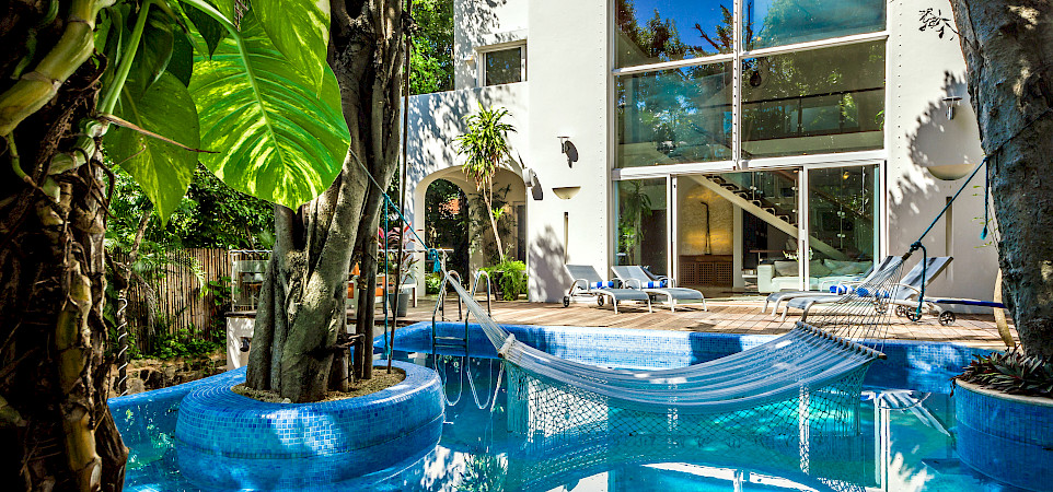 Maya Luxe Casa Los Charcos Playacar Mexico
