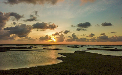 Casa Maya Kaan Tulum Drone Solo Lagoon