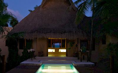 Pool Night Sea