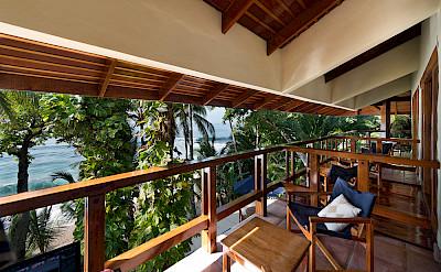 Balcony Looking West