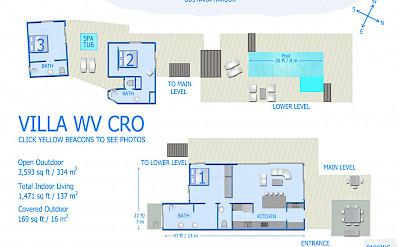 Vacation Rental St Barthelemy WV CRO Villa St Barts Villa Croico Desktop