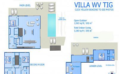 Vacation Rental St Barthelemy WV TIG Villa St Barts Villa Tigico Desktop