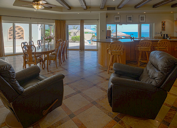 Great Room View With Recliners