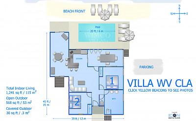 Vacation Rental St Barthelemy WV CLA Villa St Barts Villa Claico Desktop