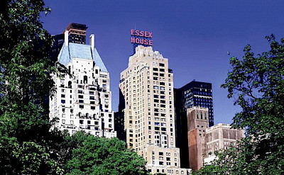 Essex House View From Central Park