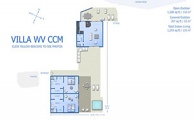 Vacation Rental St Barthelemy WV CCM Villa CocodeMer St Barts Villa Ccmico Desktop