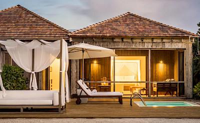 Como Parrot Cay Exterior Pool Deck One Bedroom Beach House