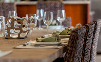 Corf Dining Detail