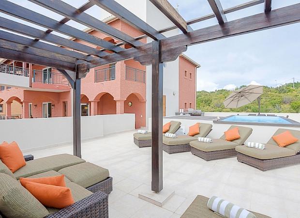 Corf Pool Terrace 2