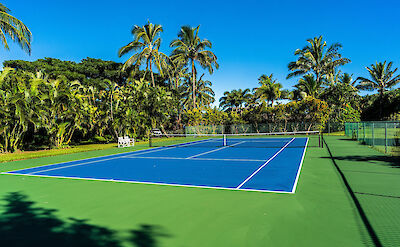 Exterior Tennis Court