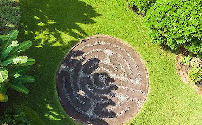 Exterior 7 Labyrinth Rock Garden