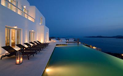 Villa In The Evening