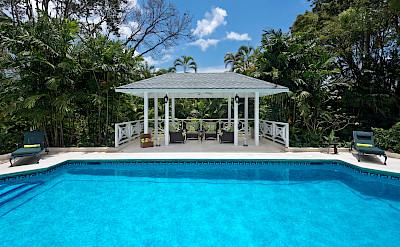 May Gazebo Over Pool