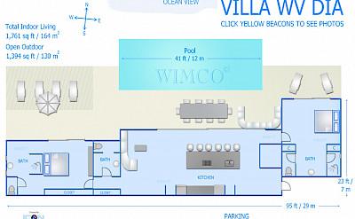 Vacation Rental St Barthelemy WV DIA Villa St Barts Villa Diafpl Desktop