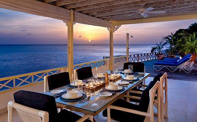 Lrg Easy Reach Dine On Patio Sunset
