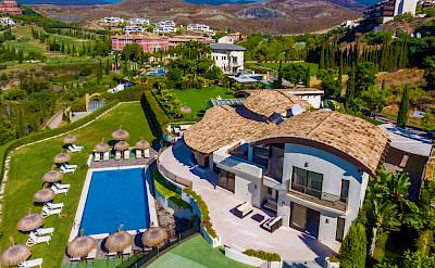 Villa El Cano Aerial