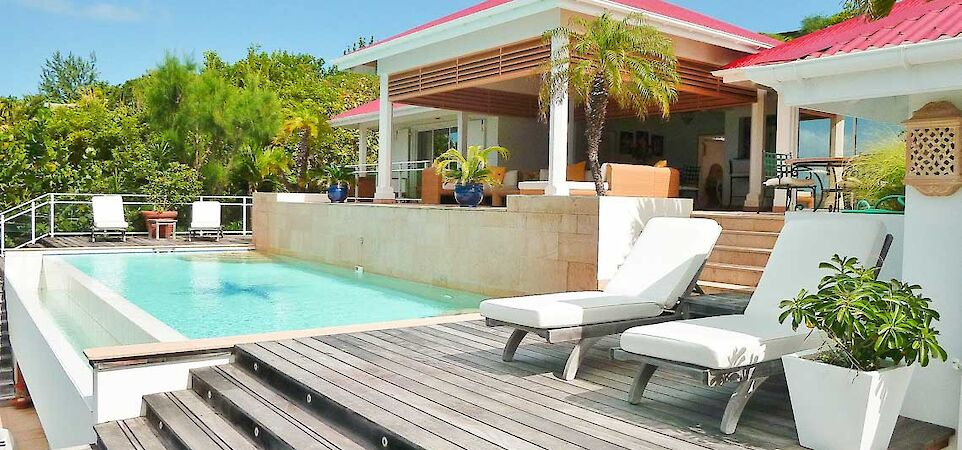 Vacation Rental St Barthelemy WV BEN Villa St Barts Villa Benpol Desktop