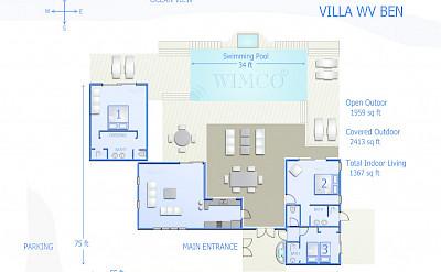Vacation Rental St Barthelemy WV BEN Villa St Barts Villa Benfpl Desktop