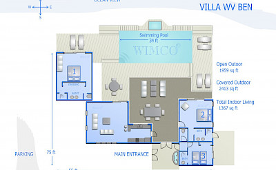 Vacation Rental St Barthelemy WV BEN Villa St Barts Villa Benico Desktop