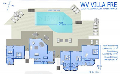 Vacation Rental St Barthelemy WV FRE Villa St Barts Villa Freico Desktop