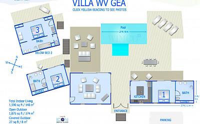 Vacation Rental St Barthelemy WV GEA Villa St Barts Villa Geaico Desktop