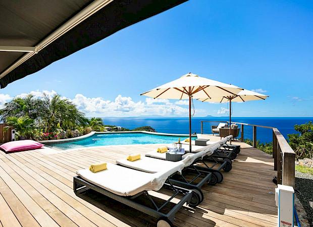 Vacation Rental St Barthelemy WV GGL Villa Villa St Barts Villa GGLdek Desktop