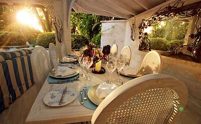 Dinner Table Sunset L