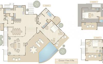 Maps Hi Res Si 4 Bedroom Villa Compact Floor Plan L