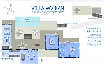 Vacation Rental St Barthelemy WV KAN Villa St Barts Villa Kanico Desktop
