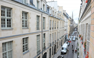 Exterior Street From Balcony