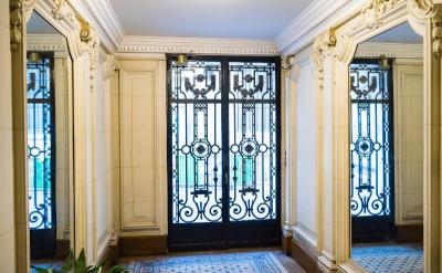 Building Front Door Interior