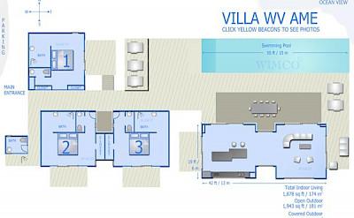 Vacation Rental St Barthelemy WV AME Villa St Barts Villa Ameico Desktop
