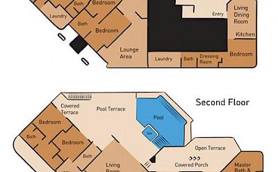 Bedroom Floor Plan Sheriva Villas
