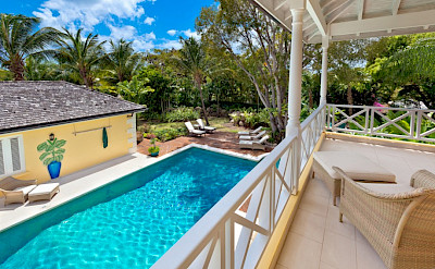 Med Sandy Lane Apr From Pool From Upstairs Balcony