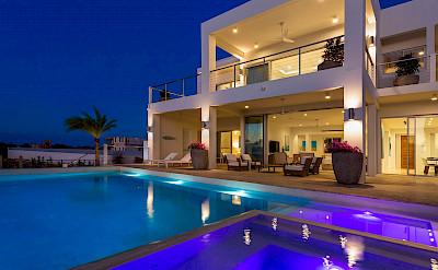 Exterior Pool Night View