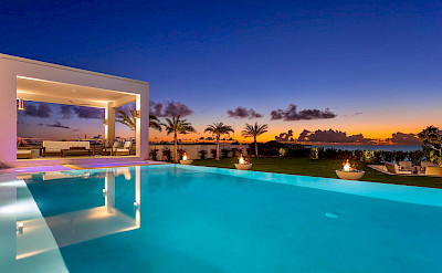 Pool Sunset View Anguilla
