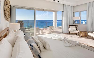 Bedroom View Caribbean Sea