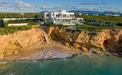 Villa Backview Beach