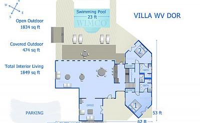 Vacation Rental St Barthelemy WV DOR Villa L Abricotier St Barts Villa Dorico Desktop