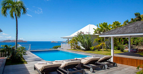 Vacation Rental St Barthelemy WV CAR Villa St Barts Villa CARdek Desktop