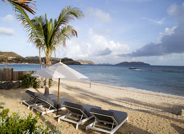 Eden Rock Villa Rental Beach