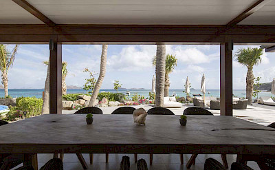 Eden Rock Villa Rental Exterior Table